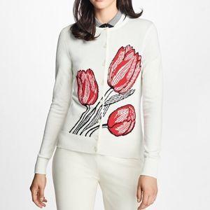 Brooks brothers 100% Supima Cotton Tulip cardigan